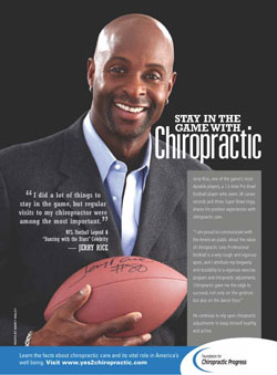 Jerry Rice - A Chiropractic Success Story